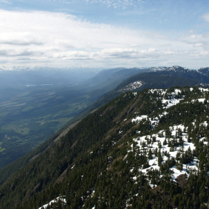 View along the Ridge